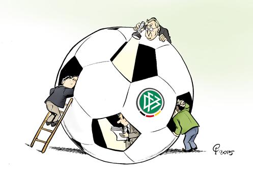 Paolo Calleri   Karikaturist, Freier Grafiker, Illustrator   Politische Karikatur: Steuer-Razzia ...